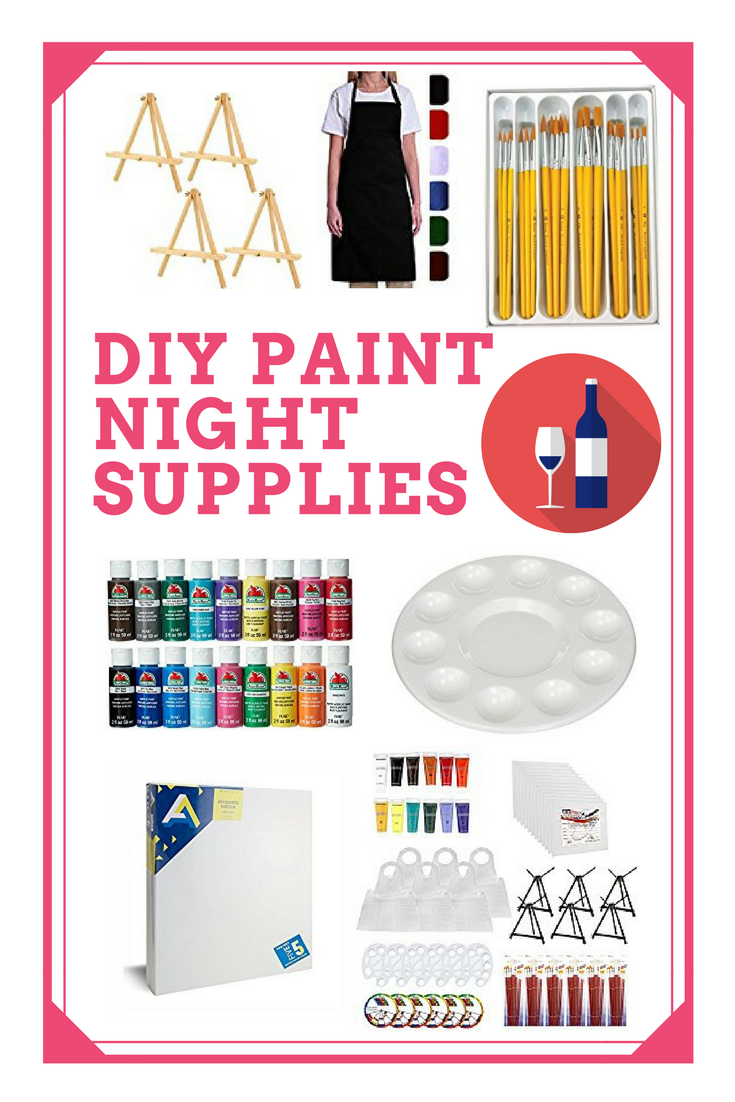 Paint Party Supplies
