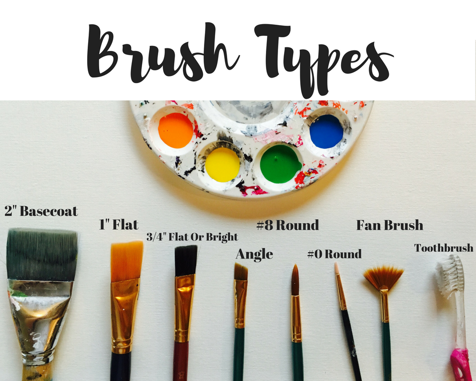 How To Use A Fan Brush With Acrylic Paint