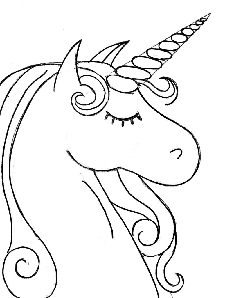 How To Paint A Rainbow Unicorn