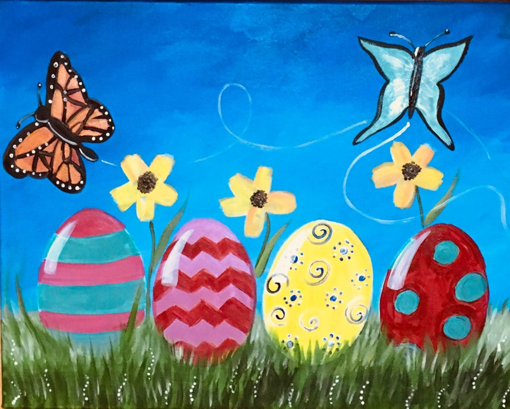 Easter Canvas Painting Ideas